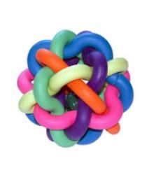 Игрушка Мяч резиновый цветной МОЛЕКУЛА 360038