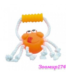 Игрушка виниловая c веревками Краб (360112)