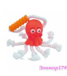 Игрушка виниловая c веревками Осьминог (360111)