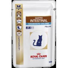Роял Канин (Роял Канин) Gastro Intestinal Moderate Calorie пауч. Диета для кошек при нарушениях пищеварения