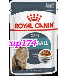 Royal Canin (Роял Канин)  HAIRBALL CARE  Корм для кошек при недостаточном выведении волосяных комочков из желудочно-кишечного тракта пауч 85гр