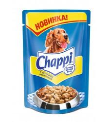Чаппи (Chappi) Курочка Аппетитная для собак пауч 100г