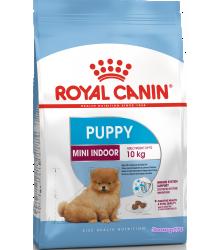 Royal Canin (Роял канин) Mini  Indoor Puppy  Корм для щенков от 2 до 10 месяцев (вес взрослой собаки до 10 кг)