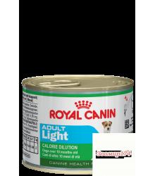 Royal Canin (Роял канин) Adult Light Для взрослых собак с 10 месяцев до 8 лет консервы 195гр