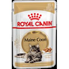 Royal Canin (Роял Канин)  Maine Coon Adult Влажный корм для кошек породы мейн-кун в возрасте старше 15 месяцев пауч 85гр
