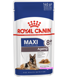 Royal Canin (Роял канин) Maxi Ageing 8+ Полнорационный влажный корм для стареющих собак крупных размеров в возрасте старше 8 лет (140гр.)