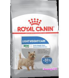 Royal Canin (Роял канин) MINI LIGHT WEIGHT CARE Корм для собак, предрасположенных к избыточному весу