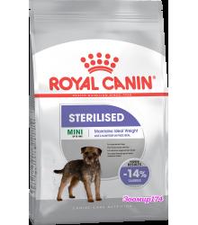 Royal Canin (Роял канин) Mini Sterilised Adult Корм для взрослых стерилизованных собак мелких размеров