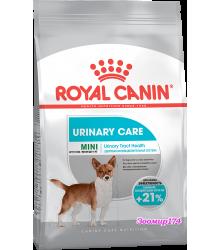 Royal Canin (Роял канин) MINI URINARY CARE Корм для собак с чувствительной мочевыделительной системой