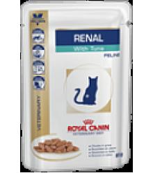 Royal Canin  (Роял Канин) Renal (тунец, пауч) Диета для кошек при хронической почечной недостаточности