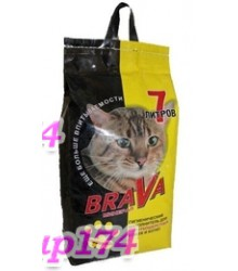 БРАВА для гладкошерстных кошек и котят (7л)