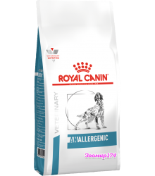 Royal Canin (Роял канин) ANALLERGENIC AN18  Диета для собак при пищевой аллергии или непереносимости с ярко выраженной гиперчувствительностью