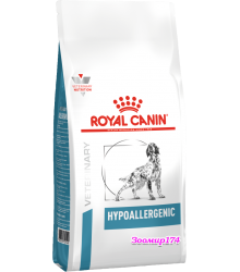 Royal Canin (Роял канин) HYPOALLERGENIC DR21 Диета для собак с пищевой аллергией или непереносимостью.